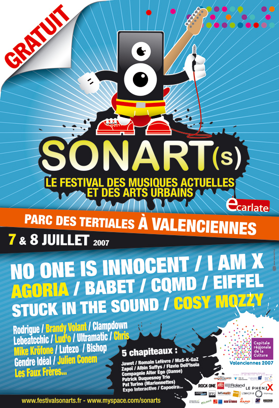 Programmation Festival SONART(s)